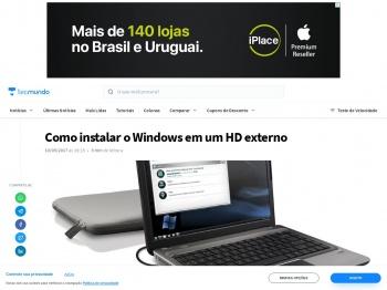 Como instalar o Windows em um HD externo - TecMundo
