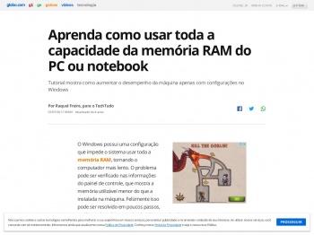 Aprenda como usar toda a capacidade da memória RAM do ...